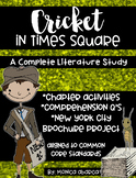 Cricket in Times Square Chapter Activities AND Comprehension Questions