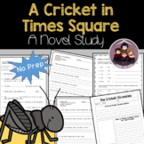 Cricket in Times Square Study Guide and Worksheets