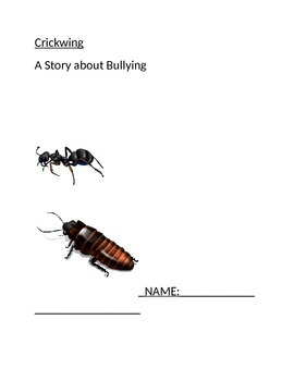 Crickwing - A Bullying Story