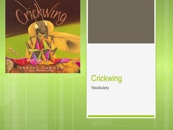 Crickwing Vocabulary Preview