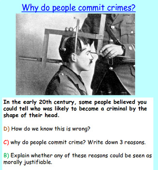 Crime: Crime and Punishment