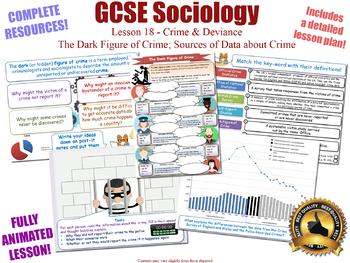 Crime Data, Dark Figure, & Statistics- Crime & Deviance L18/20 (GCSE Sociology)