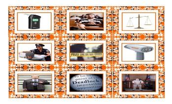 Crime, Law Enforcement & Court Cards