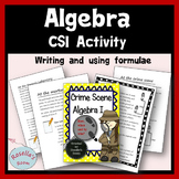CSI Algebra - Writing & Using Formulae
