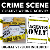 Crime Scene Creative Writing Activity Pack