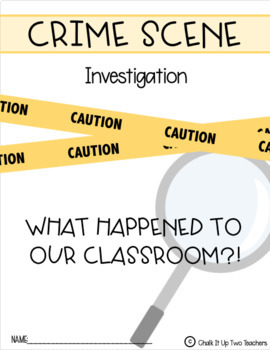 Crime Scene Inference Activity
