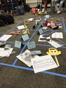 Crime Scene Introduction Lesson for The Great Gatsby