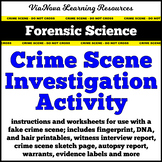 Forensic Science Crime Scene Investigation Activity