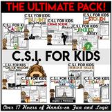 Crime Scene Investigation Activities | CSI | The ULTIMATE Bundle