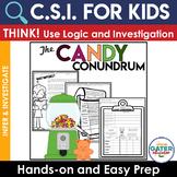 Crime Scene Investigation Activity FREE | The Candy Conundrum