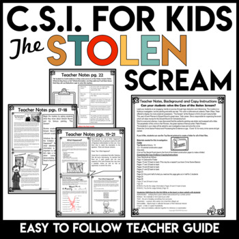 Crime Scene Investigation Activity | Fall Activities | Halloween Activities
