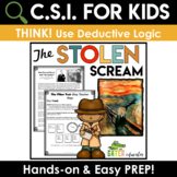 Fall Activities | Crime Scene Investigation Activity | Deductive Logic