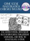 Crime Scene Investigation Activity-Low Prep