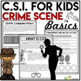 Crime Scene Investigation Activity | CSI Forensics | Solve a Mystery