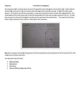Crime Scene Investigation - Projectiles