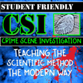 Crime Scene Investigation Mystery- Teaching the Scientific Method with Inquiry