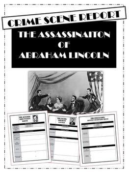 Lincoln Assassination: Crime Scene Report Activity