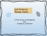 Crime Scene Investigation and Evidence Collection Warm-up