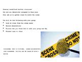 Crime Scene Lab