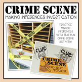 Crime Scene Making Inferences Investigation