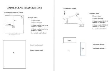 Crime Scene Measurement Practice