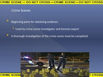 Crime Scene PowerPoint