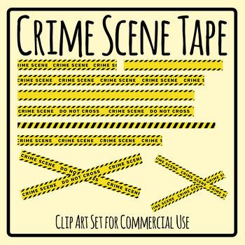 Crime Scene Tape - Police or Detective Theme Crime Scene Investigation Tape