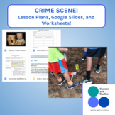Crime Scene investigation- Qualitative and Quantitative Observations Notebook