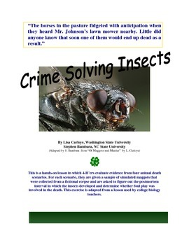 Crime Solving Insects - Using Entomology in Forensics