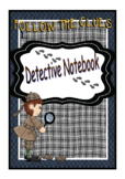 Crime Week Detective Notebook-Forensics