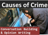 Crime and Law (C): Causes of crime conversation builder & Opinion Writing