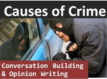 Crime and Law (C): Causes of crime conversation builder &