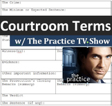 """Crime and Law (C): Learning courtroom terms with """"The Practice"""" (TV show pilot)"""