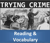 Crime and Law (C): Trying Crime in the USA (Reading & Vocabulary)