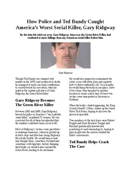 Crime and Psychology: How police and Ted Bundy caught the Green River Killer