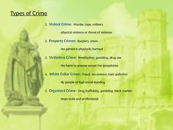 Crime and Punishment PPT