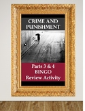 Crime and Punishment Parts 3&4 BINGO Review