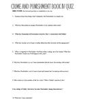 Crime and Punishment book 4 quiz