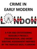 Crime in Early Modern London/Moll Flanders