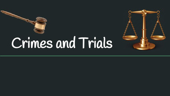 Crimes and Trials--To Kill a Mockingbird (CCSS aligned)