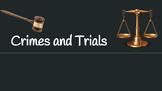 Crimes and Trials--To Kill a Mockingbird (CCSS aligned)