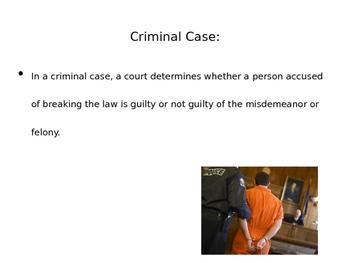 Criminal & Civil Cases power point (CE.10c)