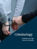 Criminology Homeschool Unit Study