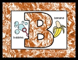 Crinkled Copper - Posters / Cards / Mats - Alphabet & Numbers