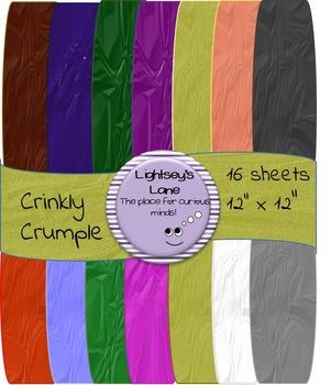 Crinkly Crumple Digital Paper