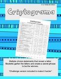 Criptograma - El Imperfecto