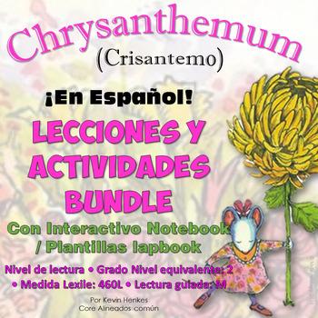 Crisantemo de Clases y Actividades Interactivas con el Cuaderno Actividades