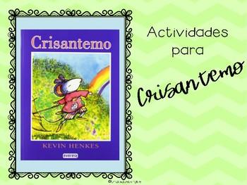 Crisantemo paquete- Chrysanthemum Spanish Activities