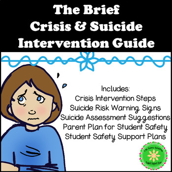 Crisis and Suicide Intervention Guide and Safety Plan