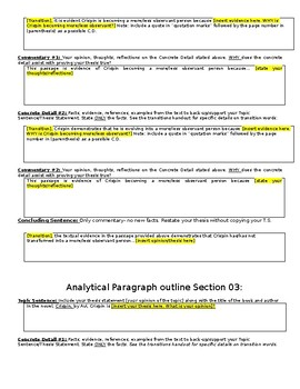 Crispin Schaffer Paragraph Response Writing Assignment